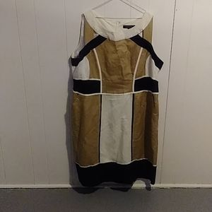 Women's colorblock dress